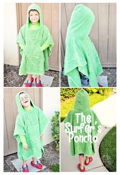 """""""Summer Social"""" Guest Project -- The Surfer's Poncho {tutorial}"""