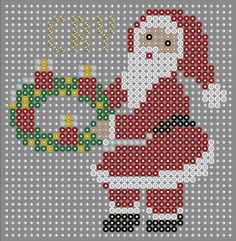 Pearler Bead Patterns, Pearler Beads, Fuse Beads, Cross Stitch Cards, Plastic Canvas Patterns, Crochet Dolls, Bead Crafts, Beading Patterns, Cross Stitch Patterns