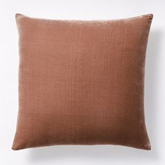 Luxe Velvet Pillow Cover - Orchid | west elm
