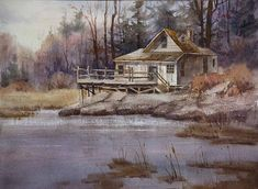 In Watercolor Landscape Painting Essentials Johannes shares four painting demonstrations: trees, buildings in a landscape, seascapes, and fl...