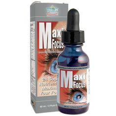 A liquid mix of 24 nutrients delivered in a dropper bottle including lutein, zeaxanthin, bilberry, zinc, vitamins and minerals for eye, brain and body health.