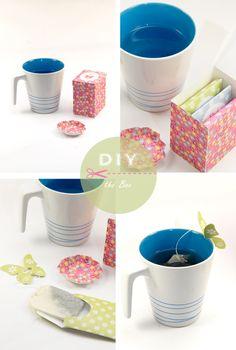 petite boite sachets thé