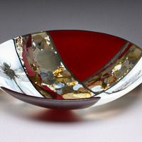R.A. Morey Kiln Formed Glass Fused Glass - bowls - bowls