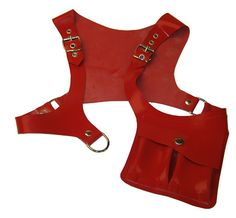 Latex shoulder holster by Blackstyle