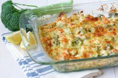 Healthy Chicken Broccoli Casserole is a delicious comforting classic. It's easy to make, packed with protein, loaded with broccoli and full of herby flavor.