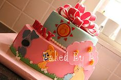Super taart gebakken door bakedbyb.nl Birthday Cake Girls, Birthday Cakes, Desserts, Kids, Inspiration, Food, Design, Anniversary Cakes, Tailgate Desserts