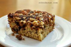 gâteau café à la farine de coco et amandes