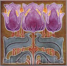 Art nouveau arts & crafts carreaux de céramique cheminée salle de bains cuisine an 094