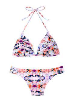 dfaad6bac275f High-cut legs and a padded bikini help balance your top and bottom halves.