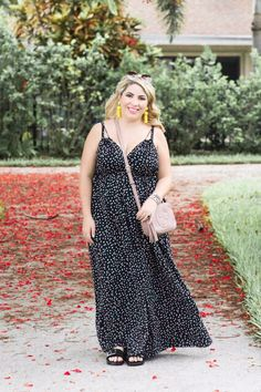 Polka Dot Jumpsuit Outfit - April Golightly