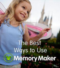 The best ways to use MemoryMaker at Walt Disney World!