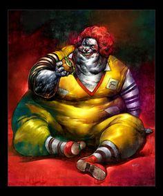 """By Don Mak   """"Fat McDonald"""""""