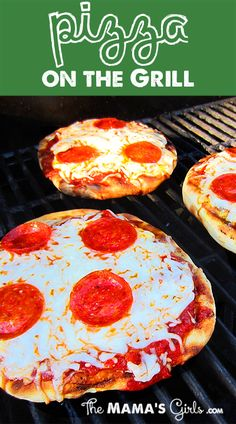 Pizza on the Grill.  Amazing. It's almost like a brick oven pizza!