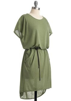 Love this easy dress! During the summer pair it with a gladiator sandal. Dress it up at night with opec tights and heels!