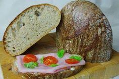 Kváskový chlebík špaldový | Pečené-varené.sk Baked Potato, Potatoes, Baking, Ethnic Recipes, Breads, Food, Bread Making, Bread Rolls, Meal
