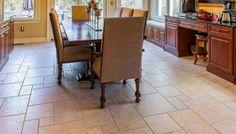Entry/kitchen floor?