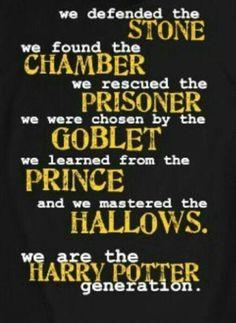 Harry potter génération☆☆☆☆☆☆