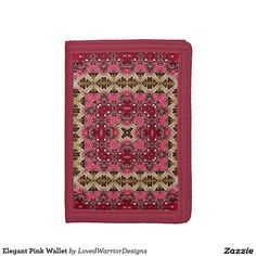 Shop Elegant Pink Wallet created by LovedWarriorDesigns. Wallet, Elegant, Pink, Design, Products, Classy, Chic, Handmade Purses, Diy Wallet