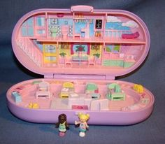 Polly Pocket - Stampin' School- One of my favorite toys when I was little! Still have it :)