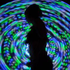 LED hula hoops. :)