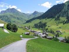 Balzers village Liechtenstein   Off to Liechtenstein tour