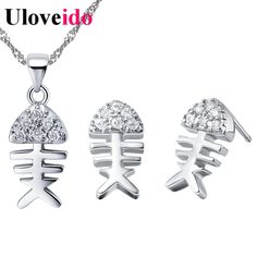 Like and Share if you want this  Fish Fashion Jewelry Sets Silver Children Jewelry Set Rhinestone Crystal Anime Necklace Brinco Earring Jewellery Uloveido T200     Tag a friend who would love this!     FREE Shipping Worldwide     Get it here ---> http://jewelry-steals.com/products/fish-fashion-jewelry-sets-silver-children-jewelry-set-rhinestone-crystal-anime-necklace-brinco-earring-jewellery-uloveido-t200/    #cheap_fashion_jewelry
