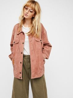 Suede Trucker Jacket at Free People Clothing Boutique
