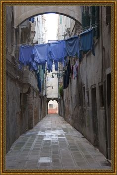 VENICE - Impression > Wash-Day Blues. Italy