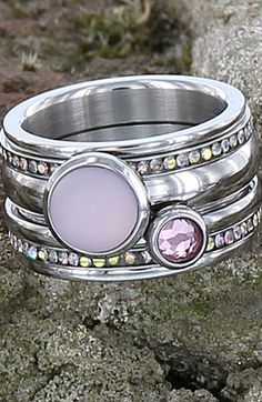 "iXXXi ring 'Light Pink Silver""  Shop online:"