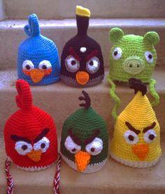 Angry Birds Crochet Hat Patterns love-love-loveeee-crochet