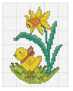 Small Cross Stitch, Cross Stitch For Kids, Cute Cross Stitch, Cross Stitch Cards, Cross Stitch Flowers, Cross Stitch Kits, Cross Stitch Designs, Cross Stitching, Cross Stitch Embroidery