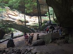 12 trails you must hike in Ohio if you love the outdoors 1. Old Man's Cave Loop (Hocking Hills State Park)