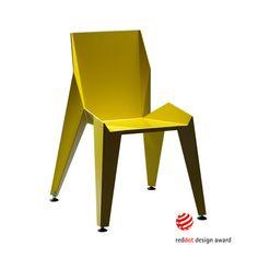 EDGE Chair // Yellow