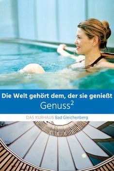 Genuss² in der Therme der Ruhe in Bad Gleichenberg! #thermederruhe #daskurhaus #badgleichenberg Sauna, Bad, Outdoor Decor, Places, Vacation, Viajes
