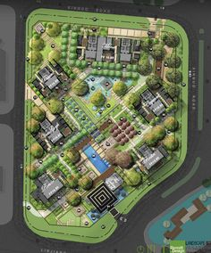 Tricks And Tips You Need To Know About Landscaping - House Garden Landscape Landscape Plane, Landscape Architecture Drawing, Landscape Design Plans, Landscape Concept, Architecture Plan, Urban Landscape, Site Development Plan Architecture, Resort Plan, Plan Maestro