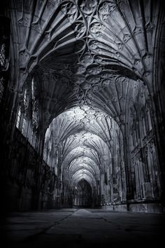 """tim-dennis: """"Gloucester Cathedral III """""""