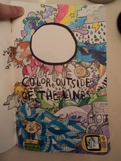 color outside the lines wreck this journal - Buscar con Google