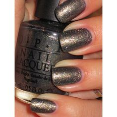 OPI Number One Nemesis ❤ liked on Polyvore
