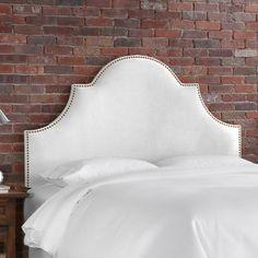 $346 -Skyline Furniture Velvet High Arch Panel Headboard   Wayfair