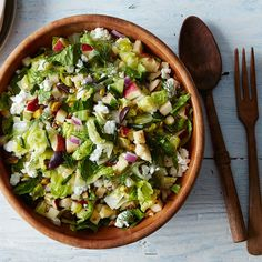 Shades of Green Chopped Salad Recipe on Food52 recipe on Food52