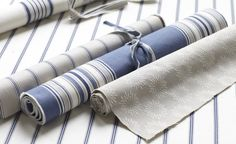 Charlbury - Ticking Stripes - Romo Fabrics