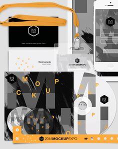 Branding Identity Mockup – Event