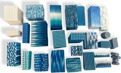 Few things can make a polymer artist more jealous than someone else's neat stash of luscious canes. Libby Mills adds heaps of vision, skill and focus into one tidy box of blues group canes. Then she shows us her next step, slices assembled into [...]