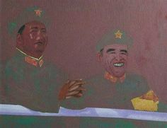 Two Chinese Generals - Patrick Procktor