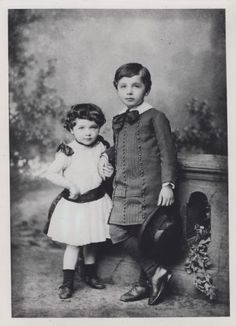 Einstein, Albert (1879-1955), Winteler-Einstein, Maja (1881-1951). Portr_03143-A