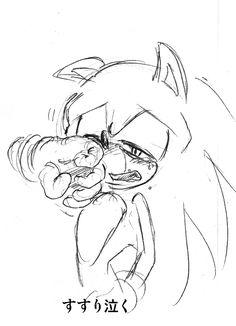 sonic cry 25to sobbing by bbpopococo.deviantart.com on @deviantART