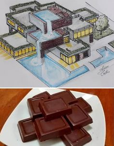 An Architect Draws Buildings Inspired By Everyday Objects (30 Pics)