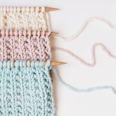 TUTO: Le point grain de poudre ♥ Avec les accessoires de l'Atelier d'Anaïs, tricotez à la maison! Tous les accessoires en vente en ligne sur www.latelierdanais.com