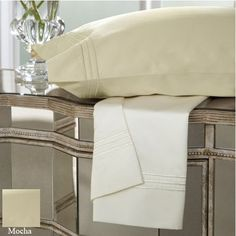 DreamFit 7Degree 600 Thread Count Elite 100Percent American Supima Cotton Sheet Set California King Mocha -- Find out more about the great product at the image link.