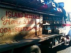 Home deliveries I remember my mom having seltzer delivered to our house